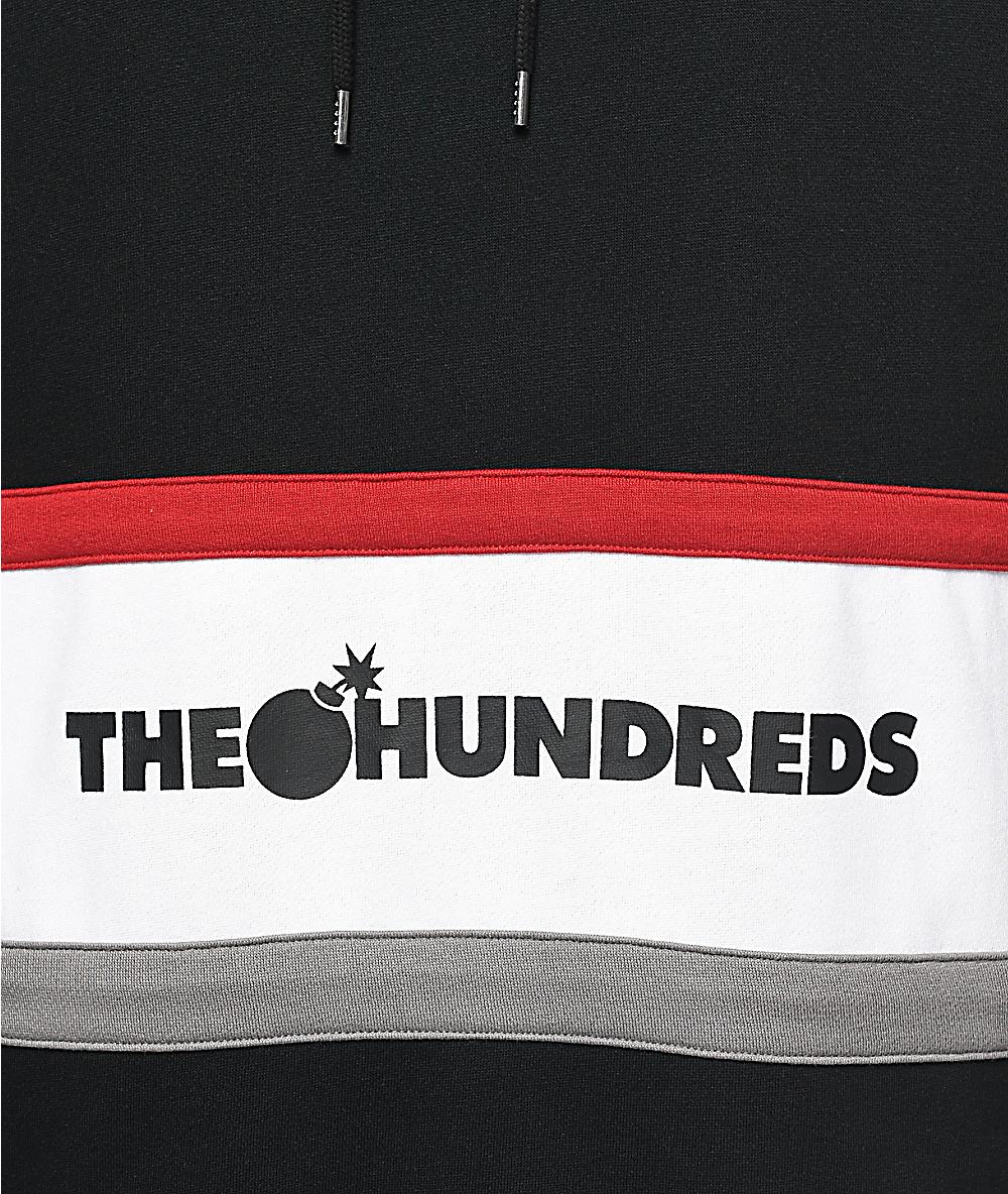 The Hundreds Briggs Black Hoodie