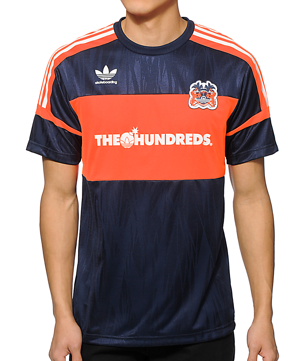 91b294ace8c4f The Hundreds x adidas Soccer Jersey