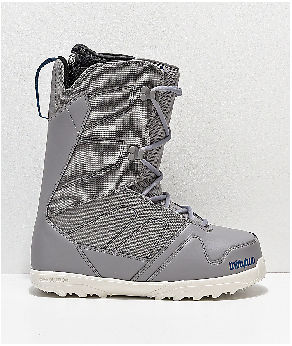 Brand New 2019 Mens ThirtyTwo Exit Snowboard Boots Grey