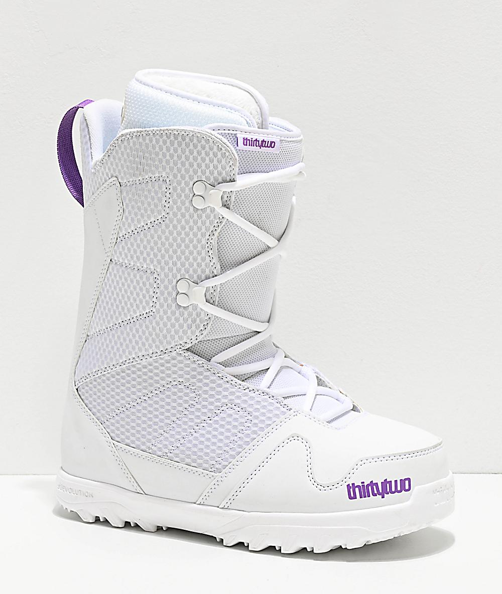 White ThirtyTwo Women Exit Snowboard Boots 7