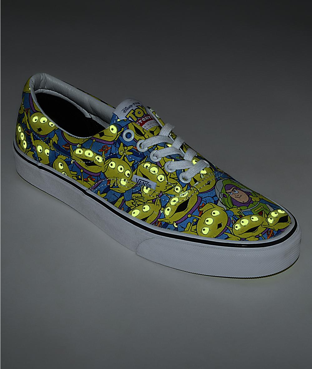 available sports shoes top brands Toy Story x Vans Era Alien Print Shoes