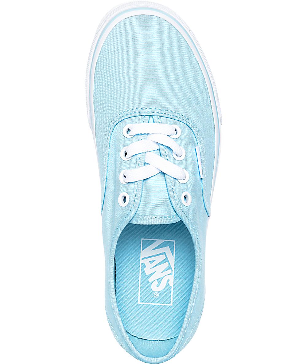 vans bleu crystal