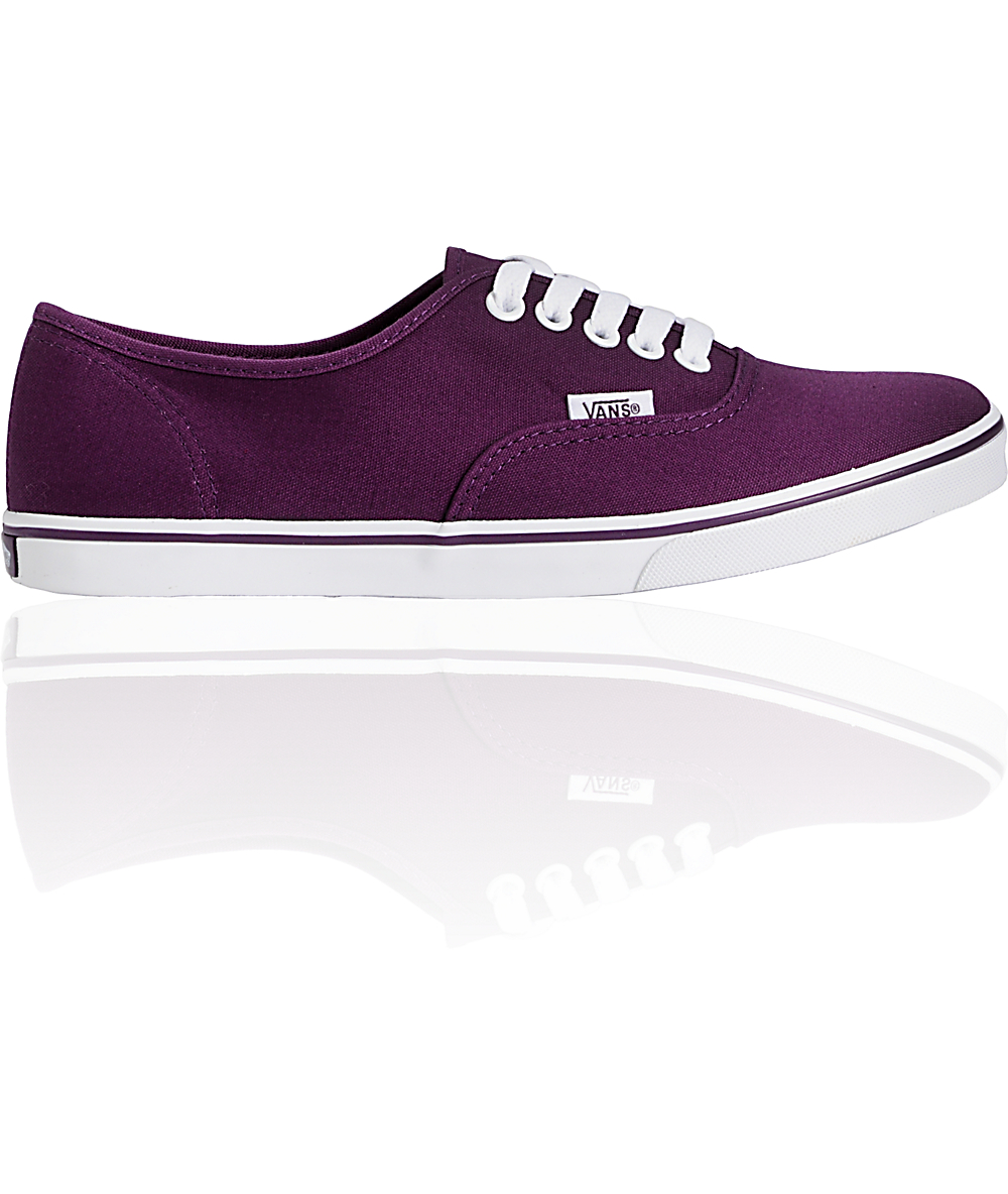 207b8c5088c00 Vans Authentic Lo Pro Shadow Purple Shoes | Zumiez