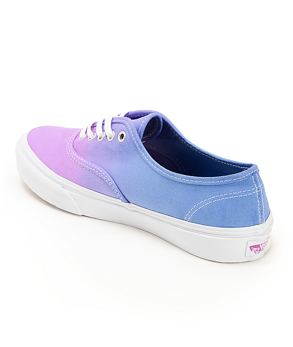 82a41880748ee Vans Authentic Purple Ombre Shoes | Zumiez