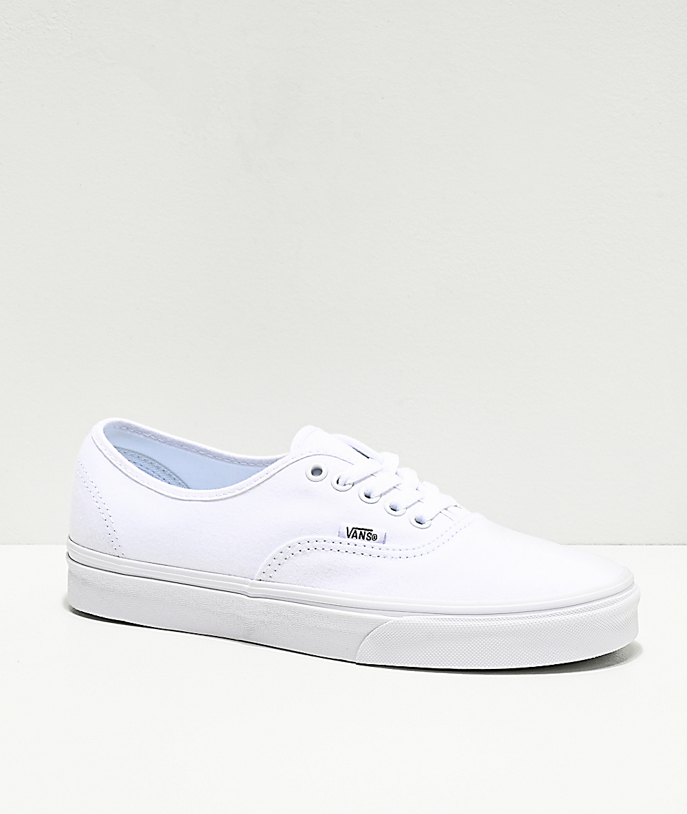 black and white vans zumiez