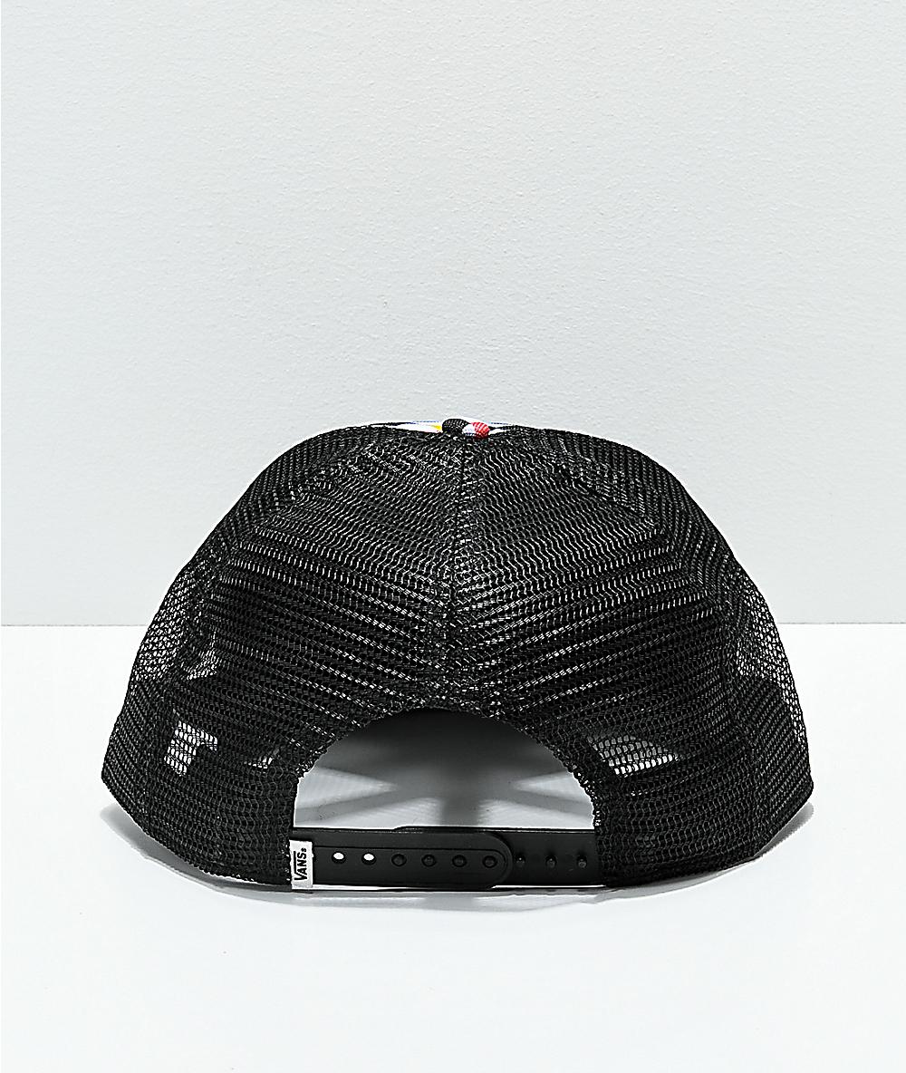 3ba254749ca2f2 Vans Beach Bound Checkerboard Snapback Hat | Zumiez