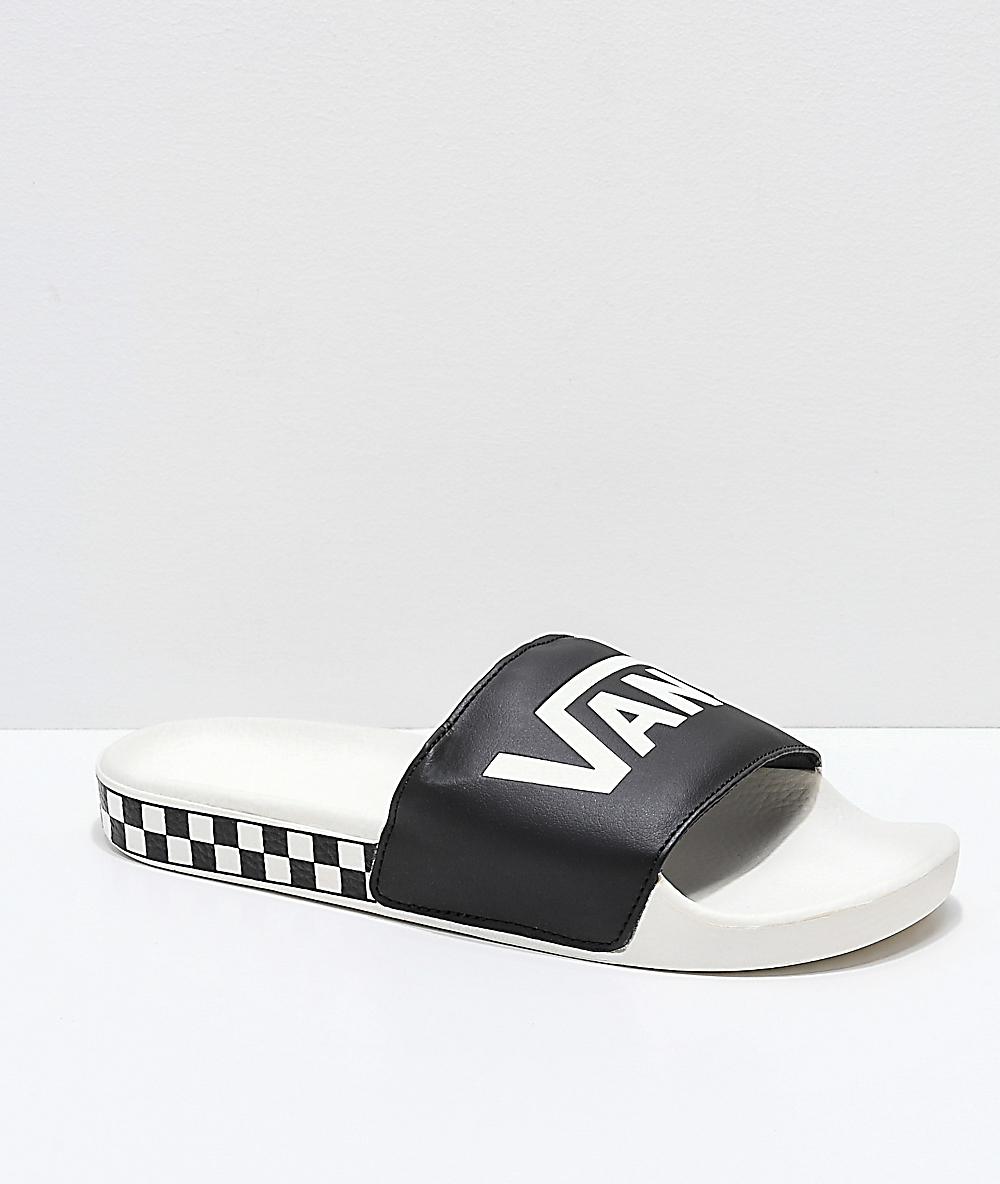 vans flip flops