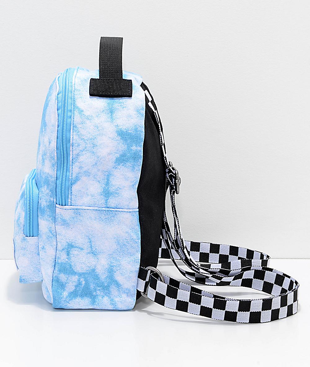 55fba6ef53 Vans Cloud Blue Bell Mini Backpack   Zumiez