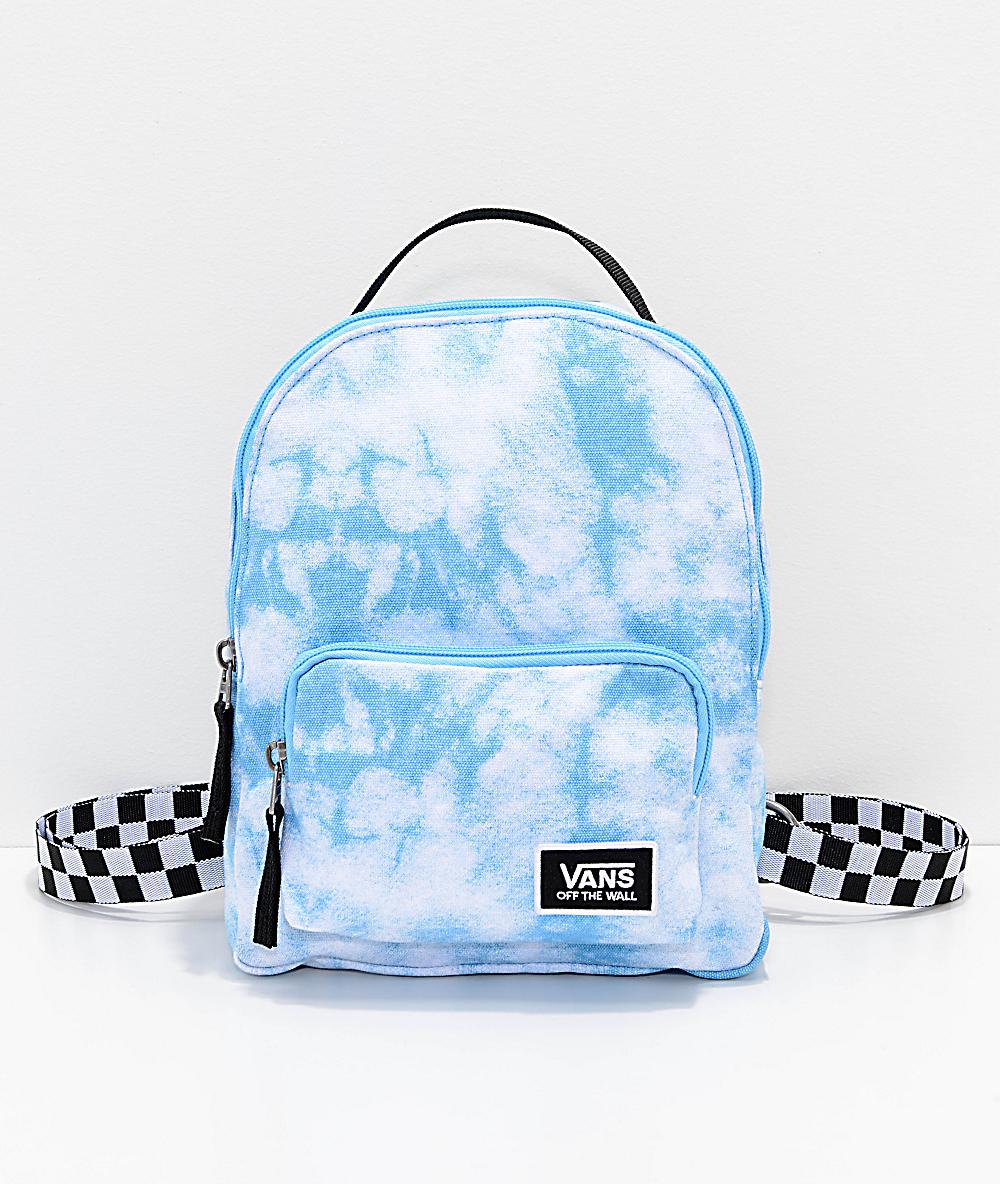 d6f639ea7c4 Vans Cloud Blue Bell Mini Backpack