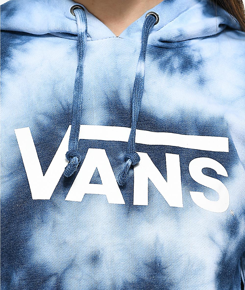 2f7f85fd Vans Drop V Blue Tie Dye Hoodie