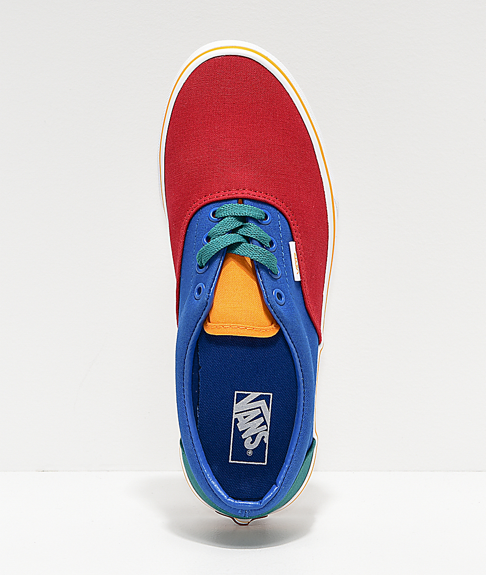 vans era red and blue Online Shopping