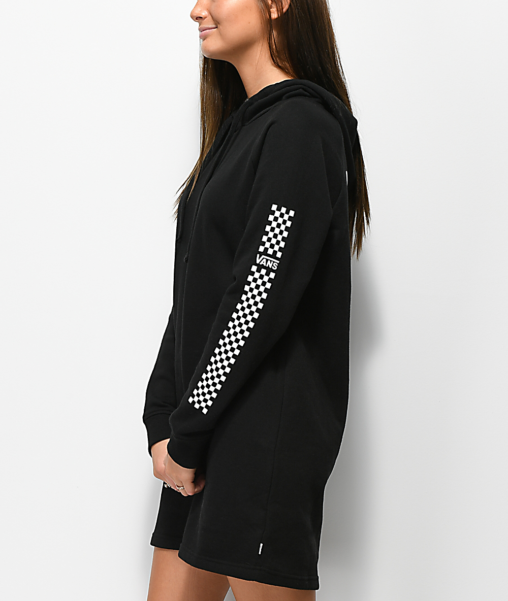 9e65e970 Vans Funday Black Hoodie Dresss