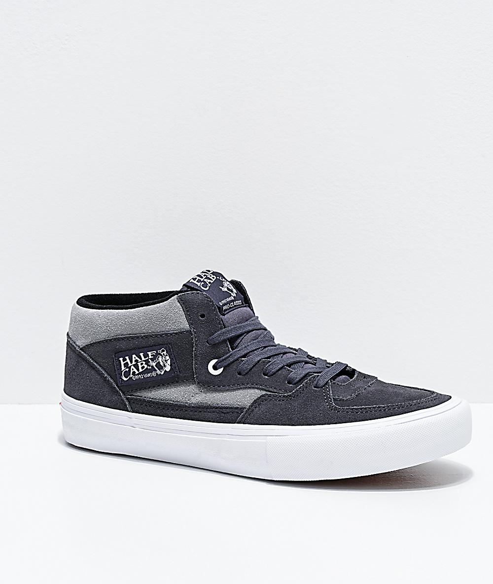 Vans Half Cab Pro Periscope & Drizzle Grey Skate Shoes