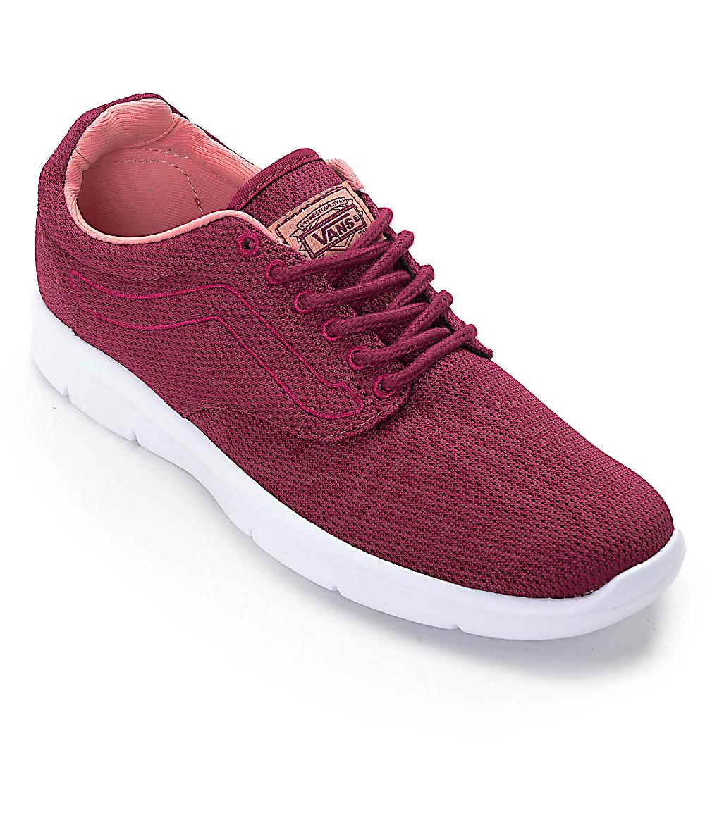 371653d0fbd4b Vans Iso 1.5 Beet Red Womens Shoes