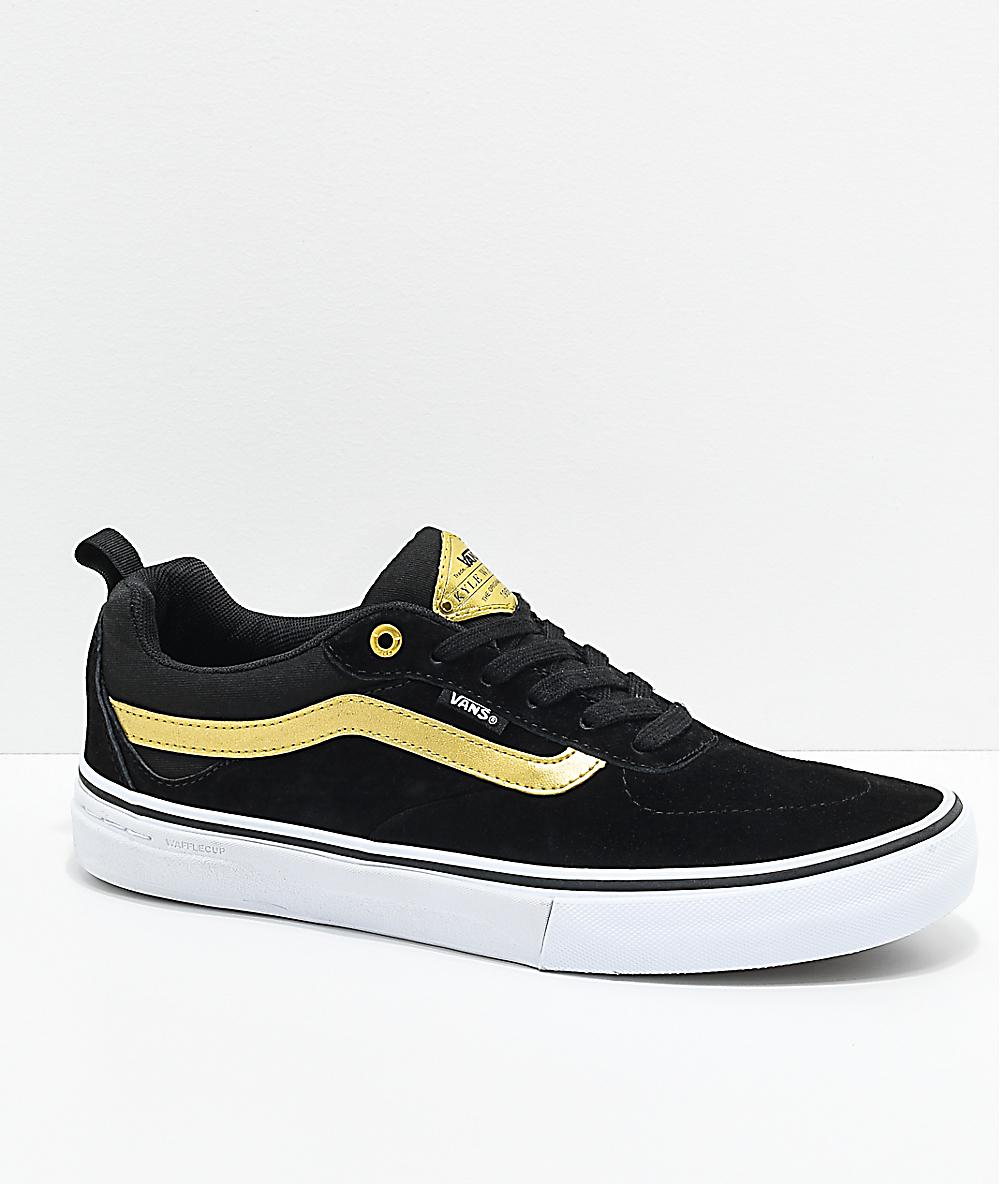 vans kyle walker black gold buy clothes