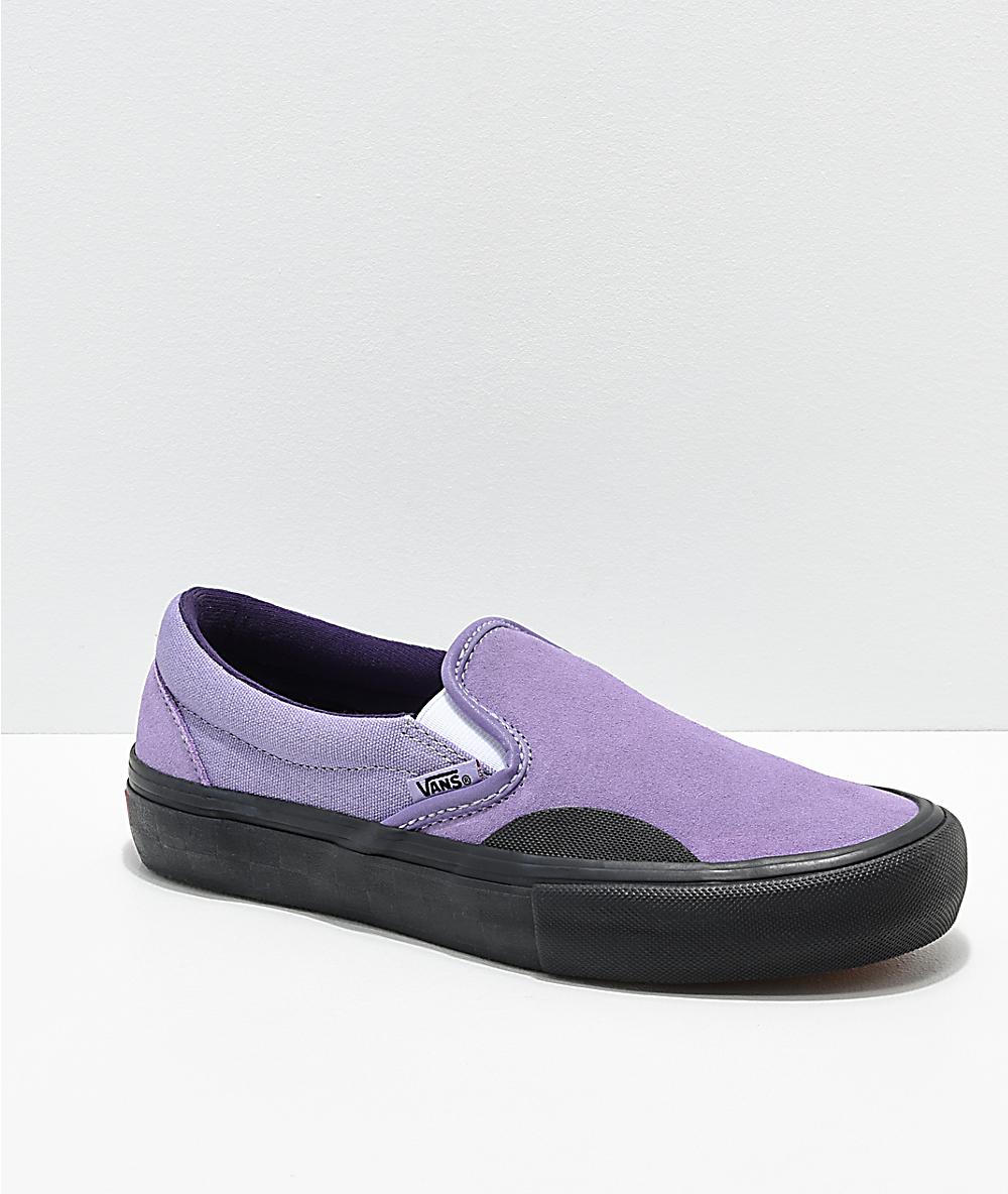 b6e26bcc909e Vans Lizzie Armanto Slip On Pro Daybreak & Black Skate Shoes | Zumiez
