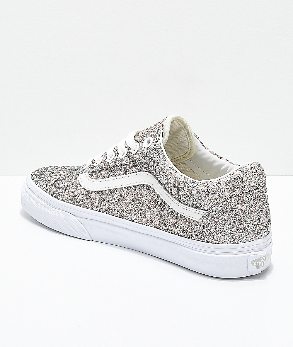 Vans Old Skool Chunky Glitter Skate Shoes