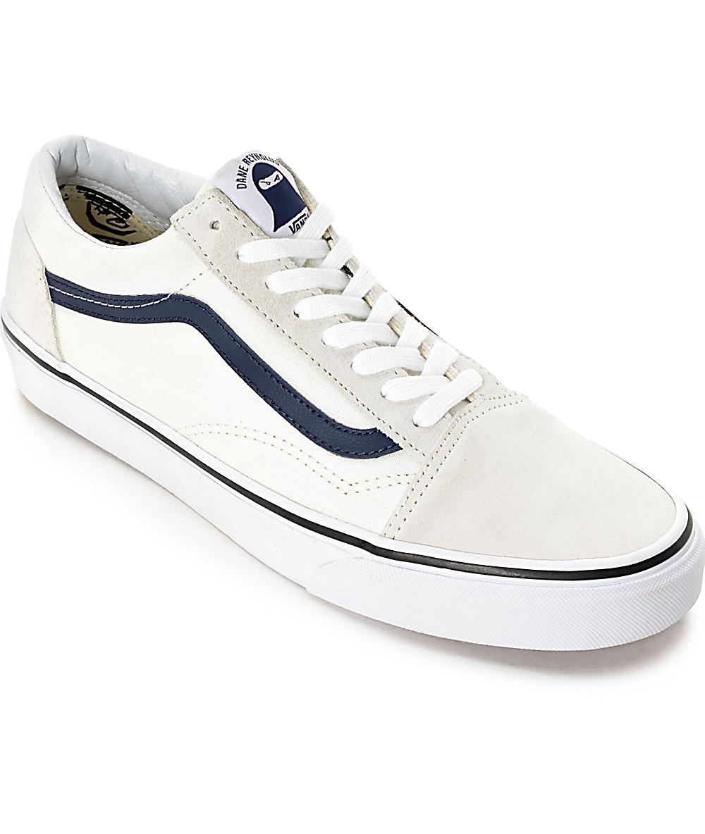 Vans Old Skool Dane Blanc De Blanc Skate Shoes