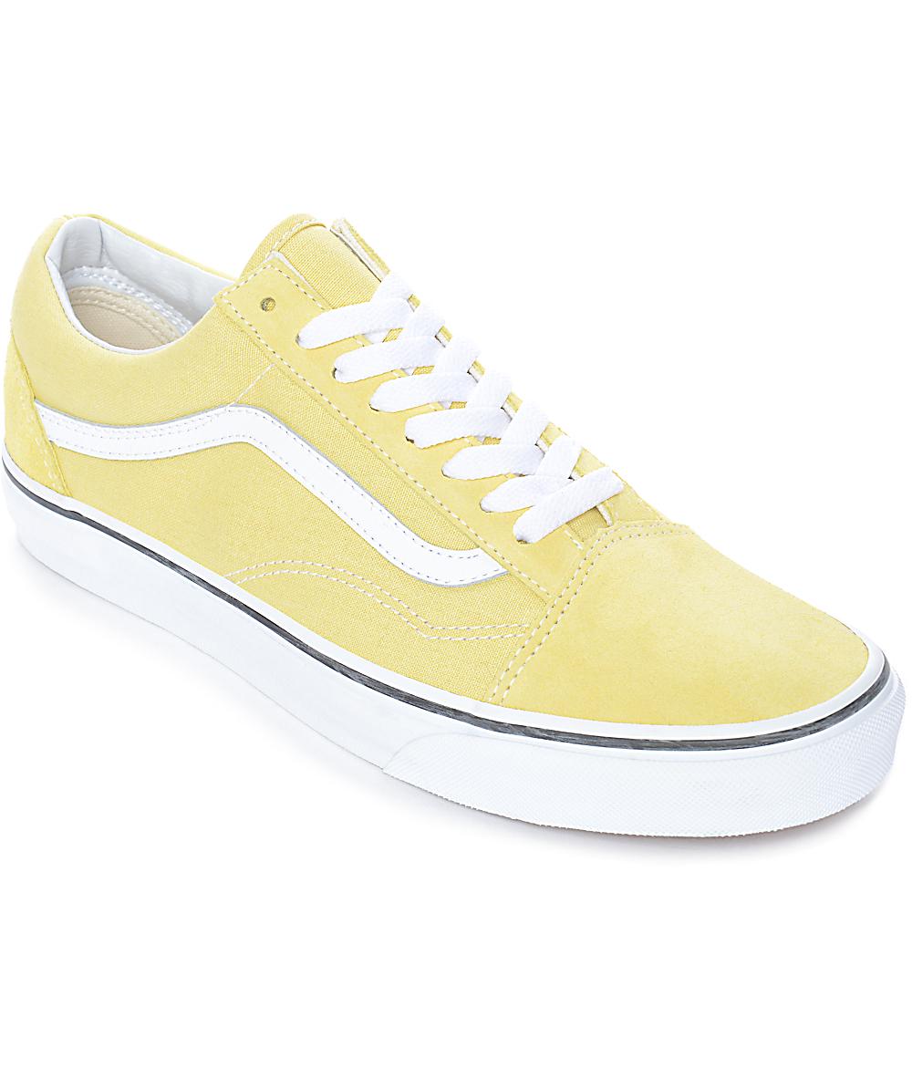 vans yellow old skool