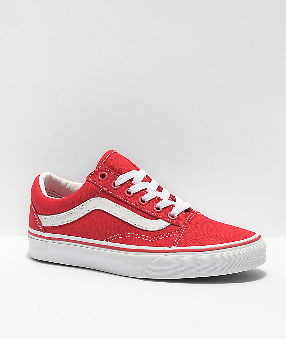 Canvas Old Skool | Shop Shoes | White vans, All white vans