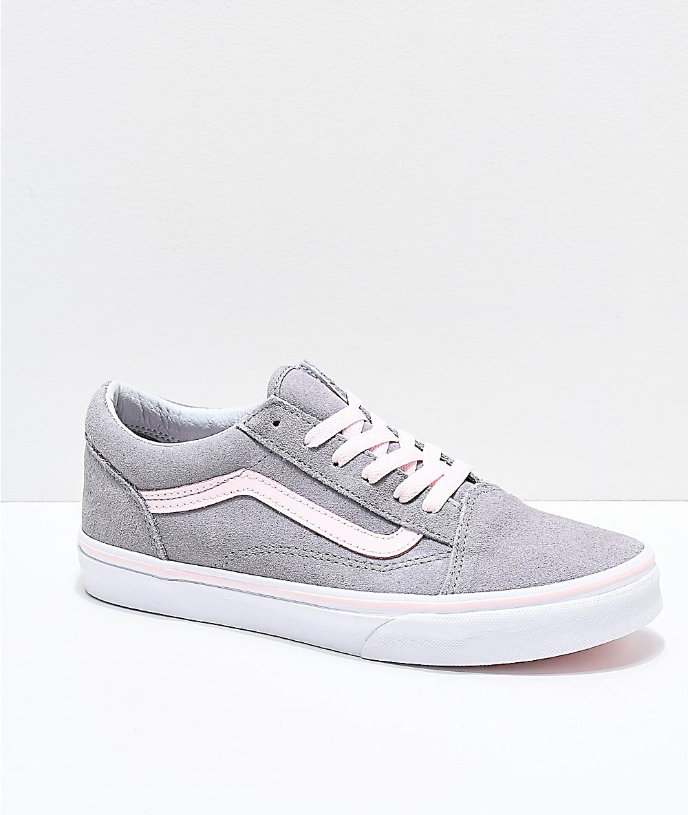 light pink vans shoes - 58% OFF