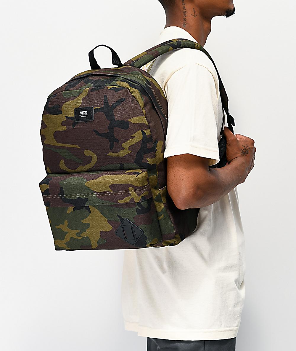 Buy Vans Classic Camo Old School Backpack for Men Online in