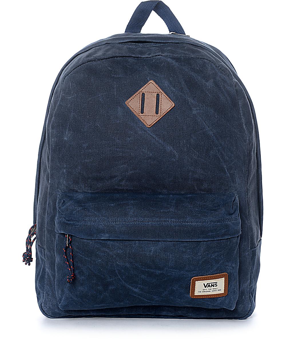 Vans Old Skool Plus Dress Blue Backpack