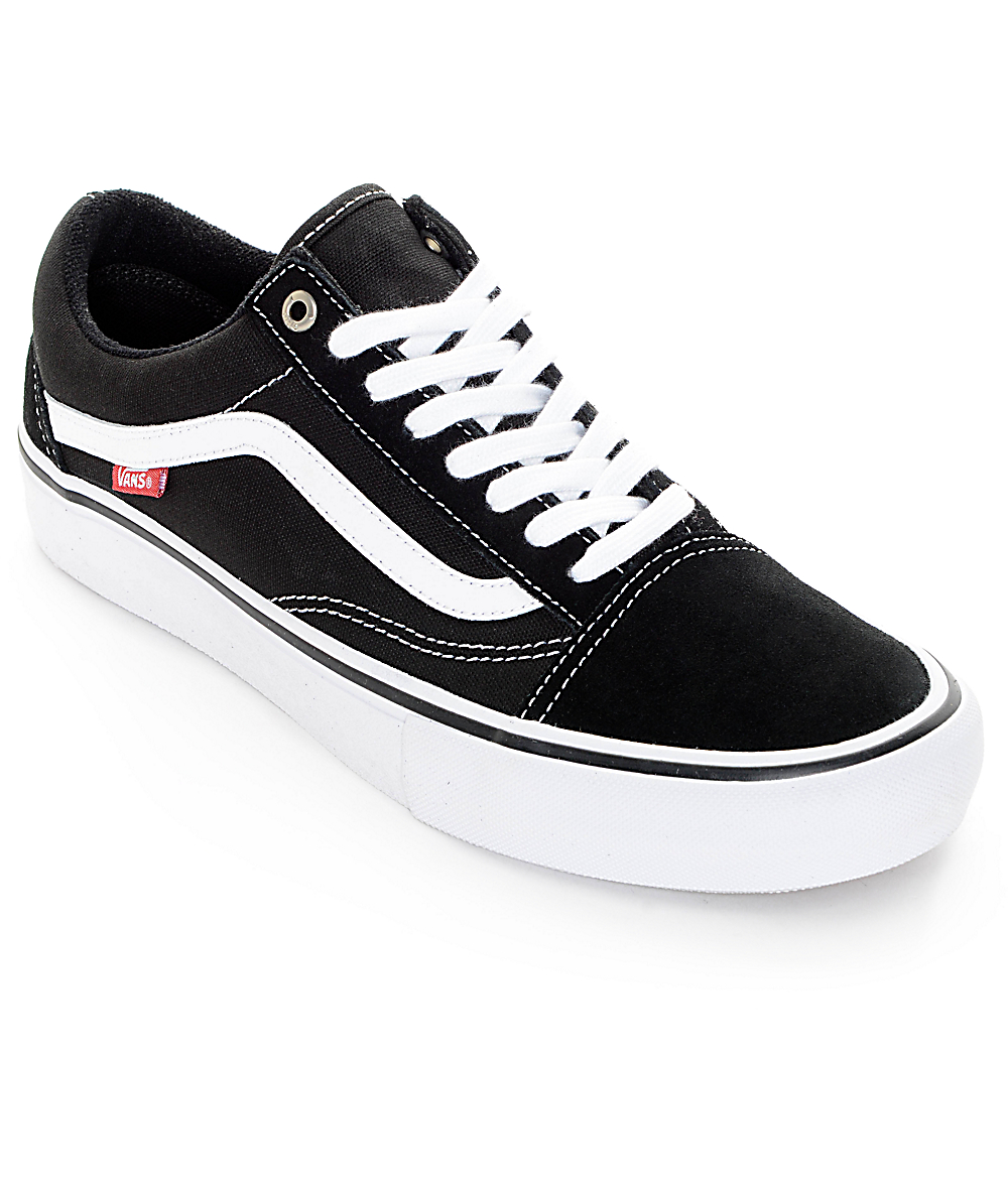 vans old skool pro vs normal