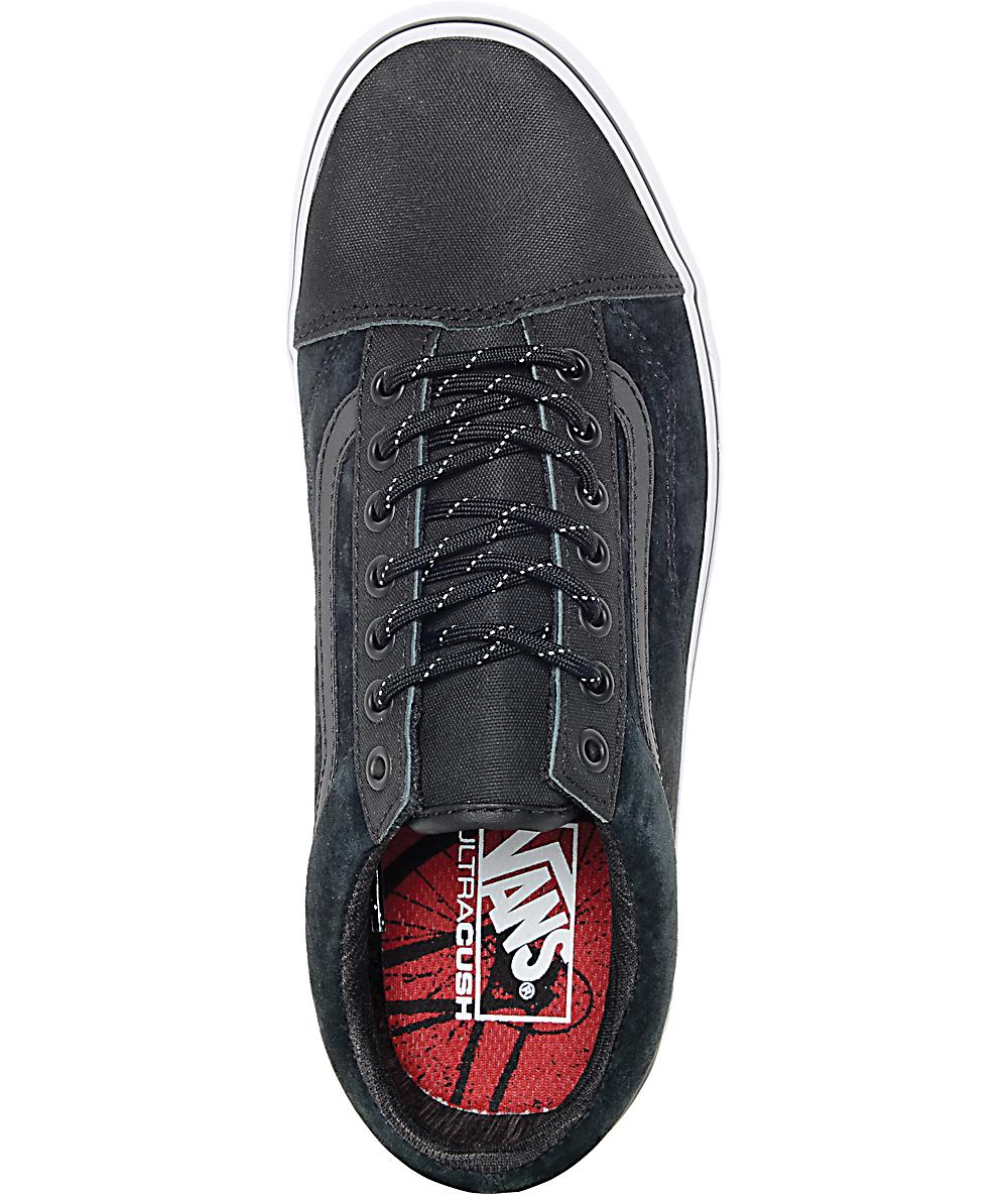 984325c92860b Vans Old Skool Reissue DX Black Reflective Shoes