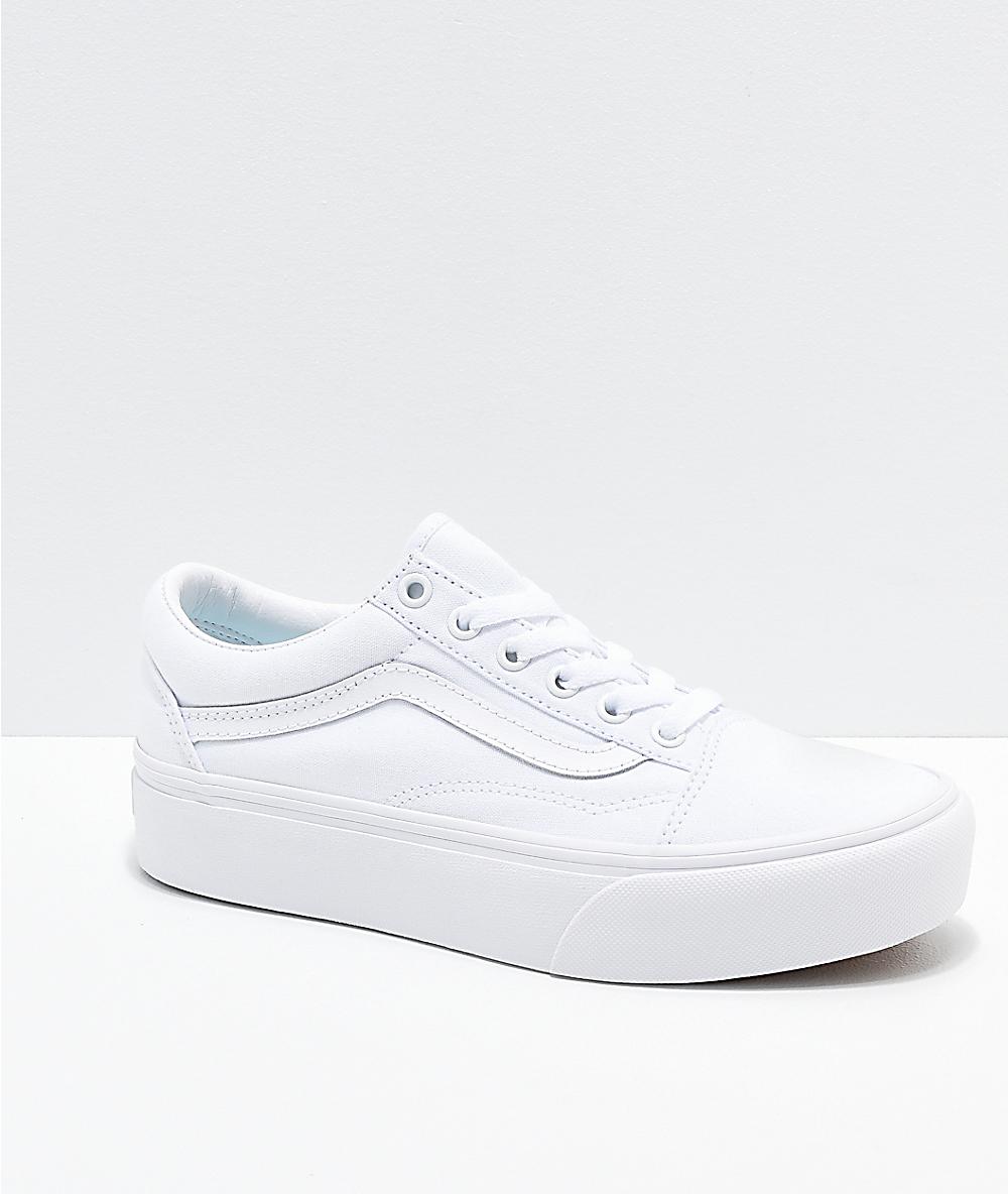 zapatos mujer vans plataforma