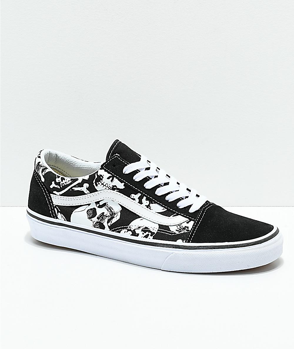Vans Old Skool zapatos de skate de calaveras