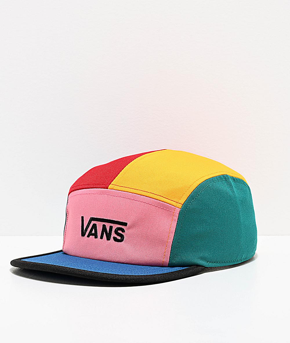 1cafd2bd Vans Patchy Patchwork Strapback Hat   Zumiez