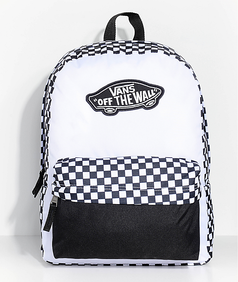 00a814f6cde Vans Realm Checkered 22L Backpack | Zumiez