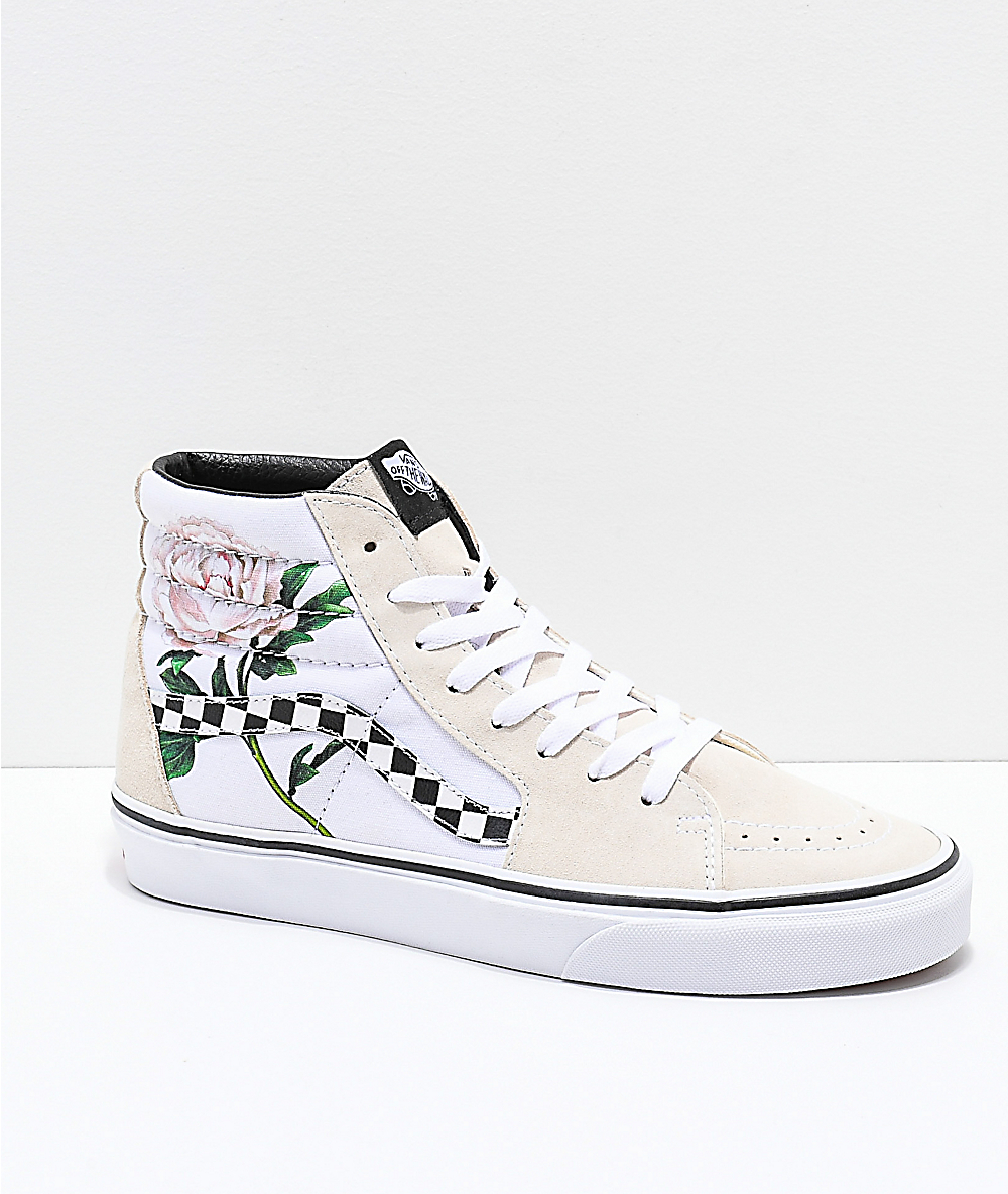 white vans with flowers Online Shopping