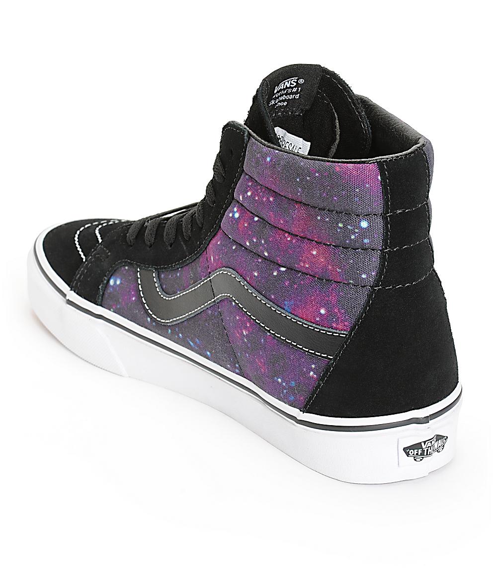 galaxy vans sk8 hi