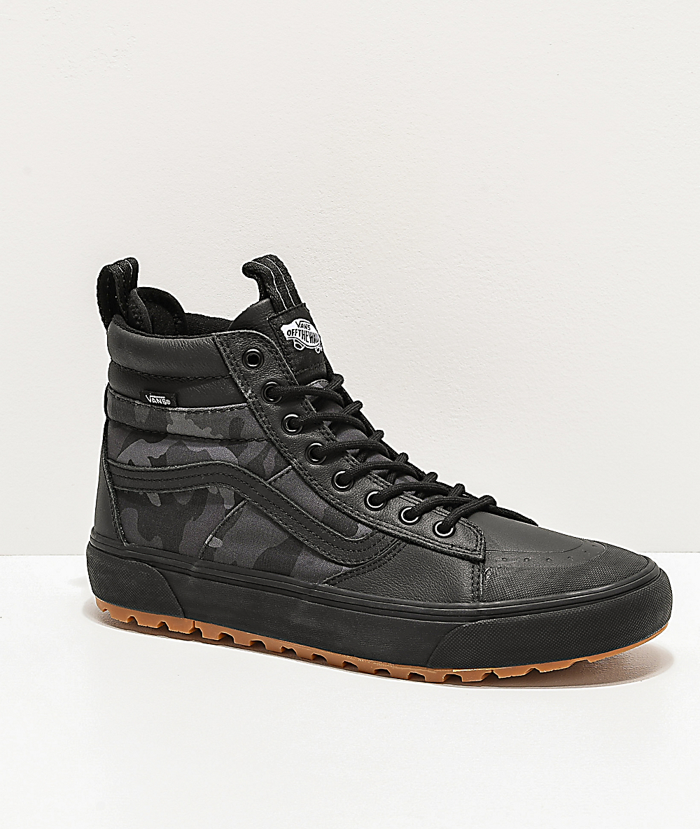 Vans Sk8 Hi MTE 2.0 DX Woodland Camo & Black Shoes