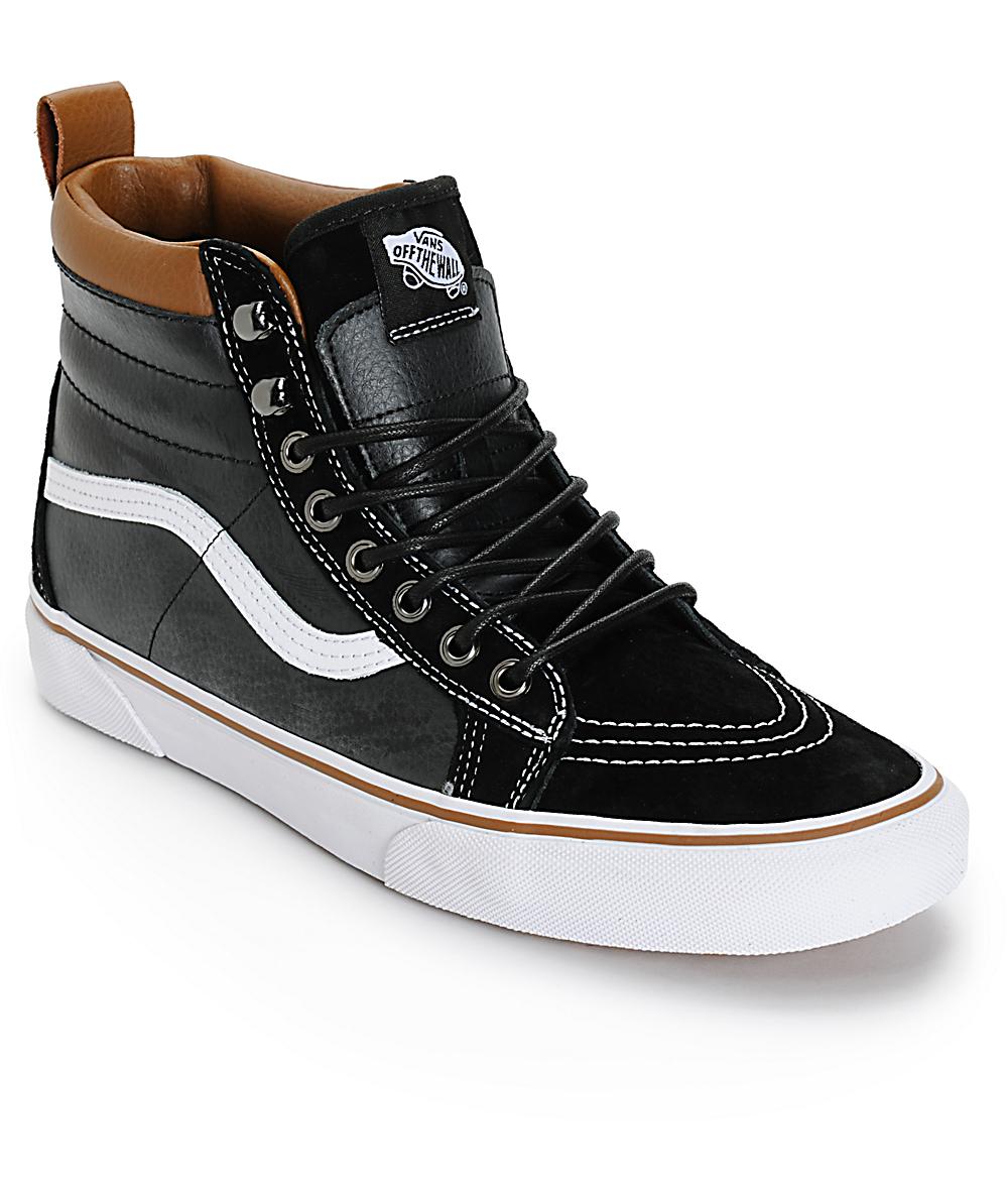 Vans SK8 Hi MTE Chaussure (leather black)