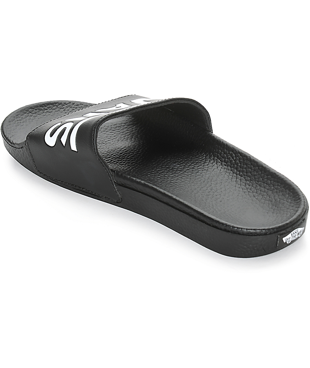 Negrasmujer Slides Slides Vans Negrasmujer Vans Resbalones Resbalones Sandalias Sandalias DIW2EH9