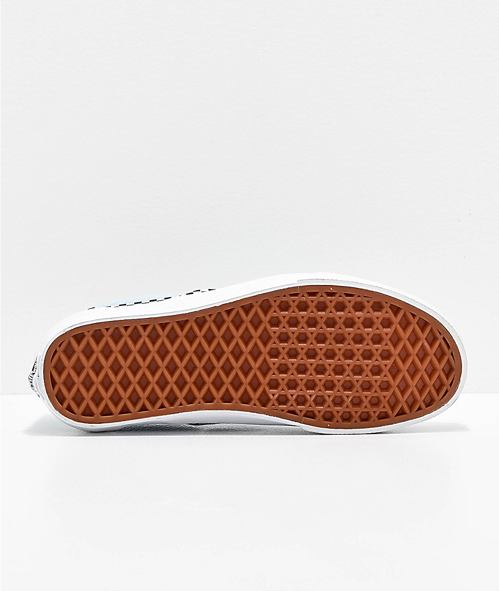 vans check foxing slip on