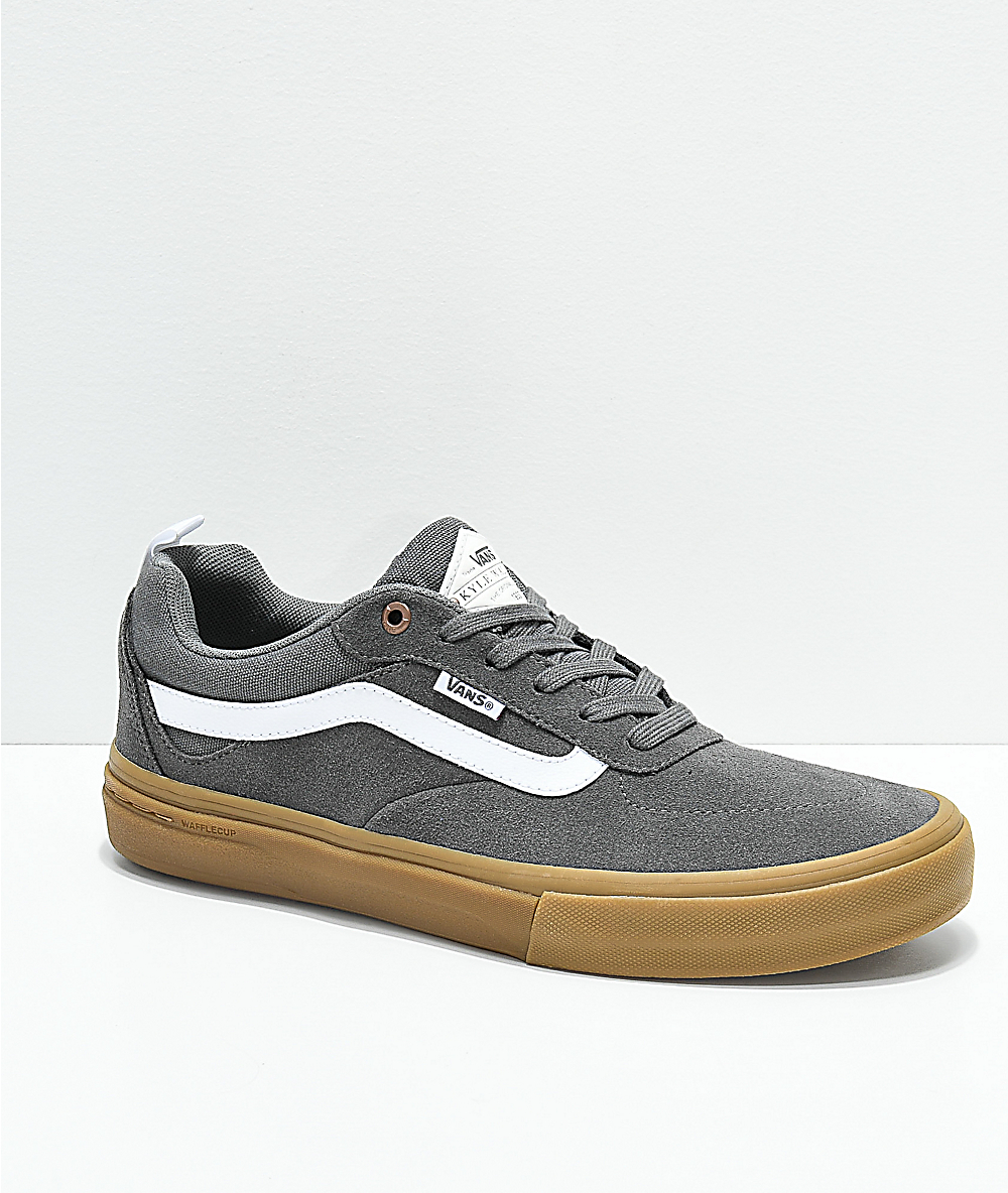 Vans Red Kyle Walker Pro (pewterlight Gum) Men's Skate Shoes for men