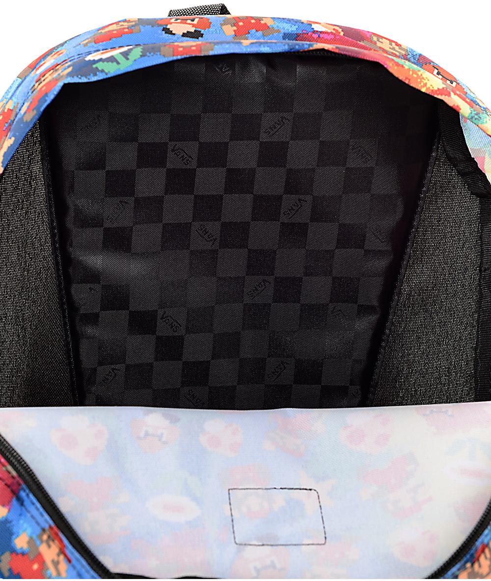 51ac4939b69 Vans X Nintendo Old Skool II Mario 22L Backpack | Zumiez