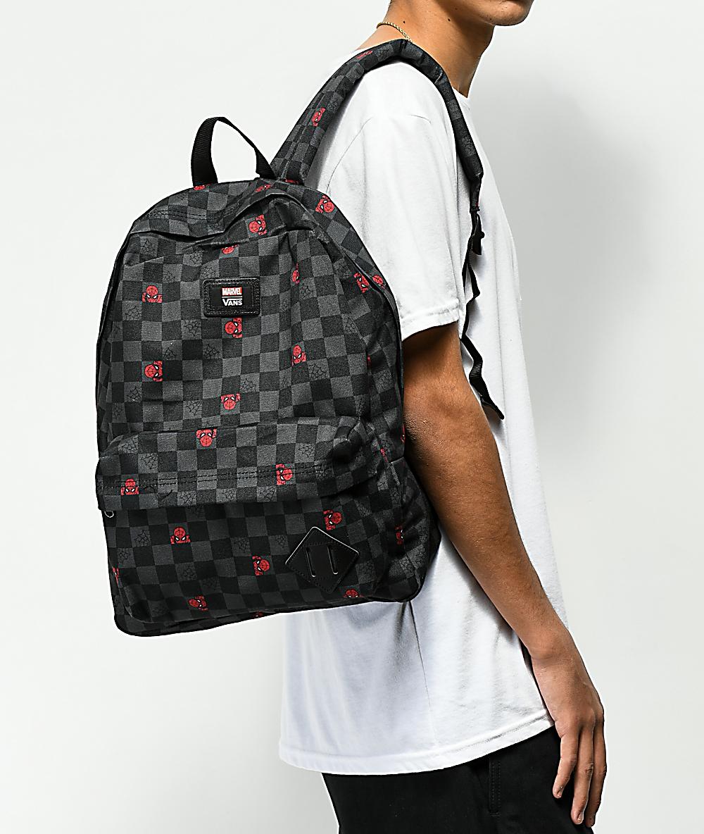 Vans x Marvel Old Skool II Spiderman Backpack