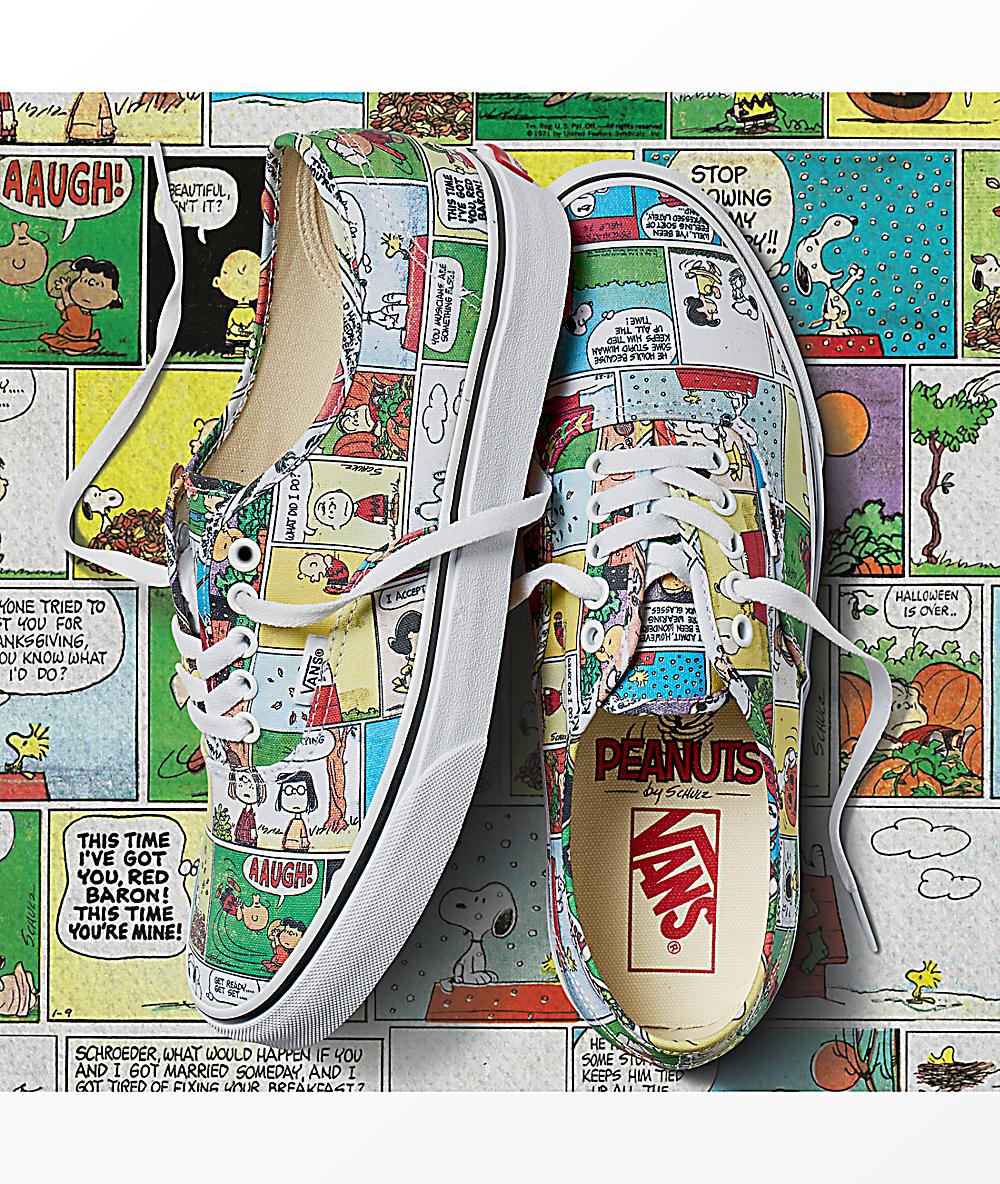 vans comics