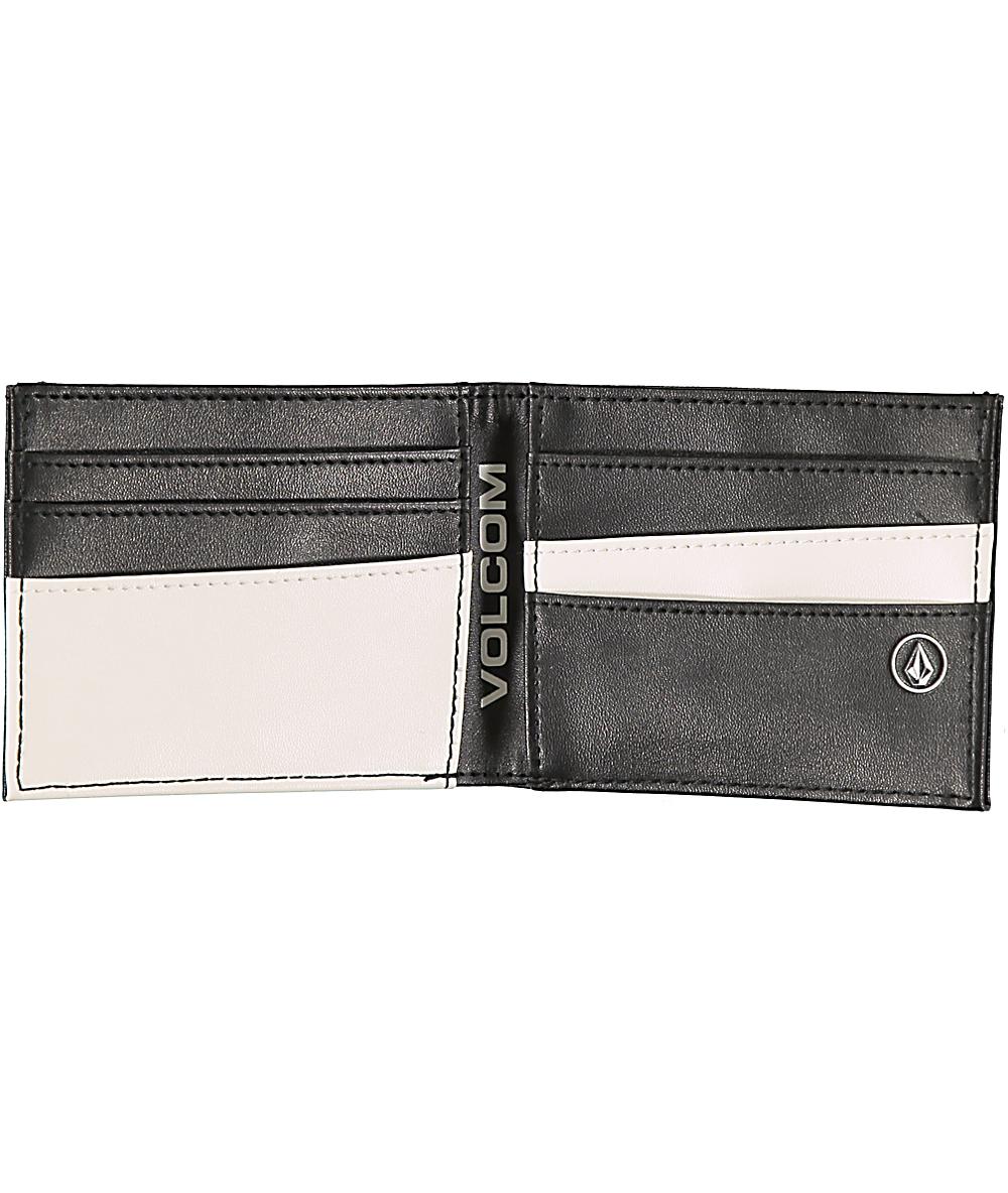 los Angeles de4e8 baf9a Volcom Corps billetera bifold negra