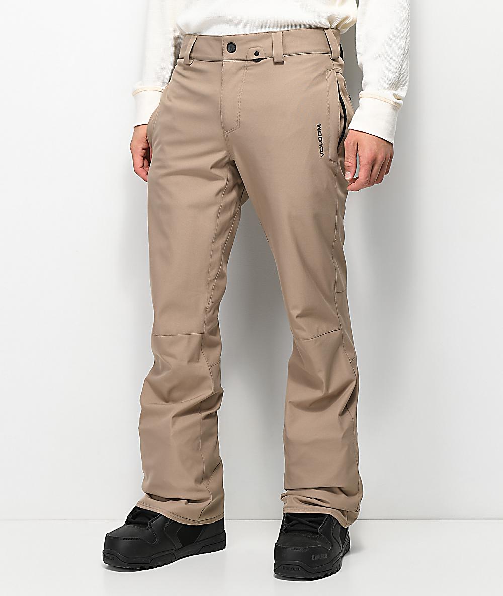 Volcom Mens Klocker Slim Form Fit Snow Pant