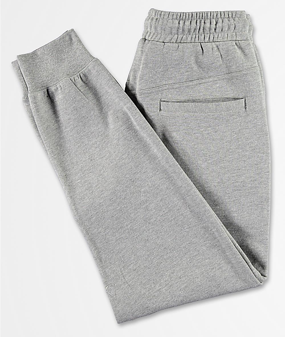 various kinds of good texture 2019 original Volcom Single Stone Grey Sweatpants