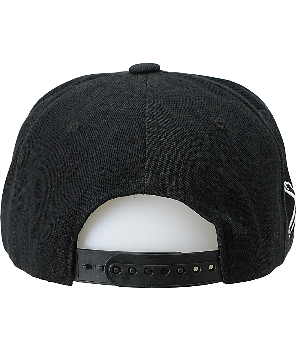 timeless design 0f8f6 f9e11 Young   Reckless OG Reckless Black Snapback Hat   Zumiez