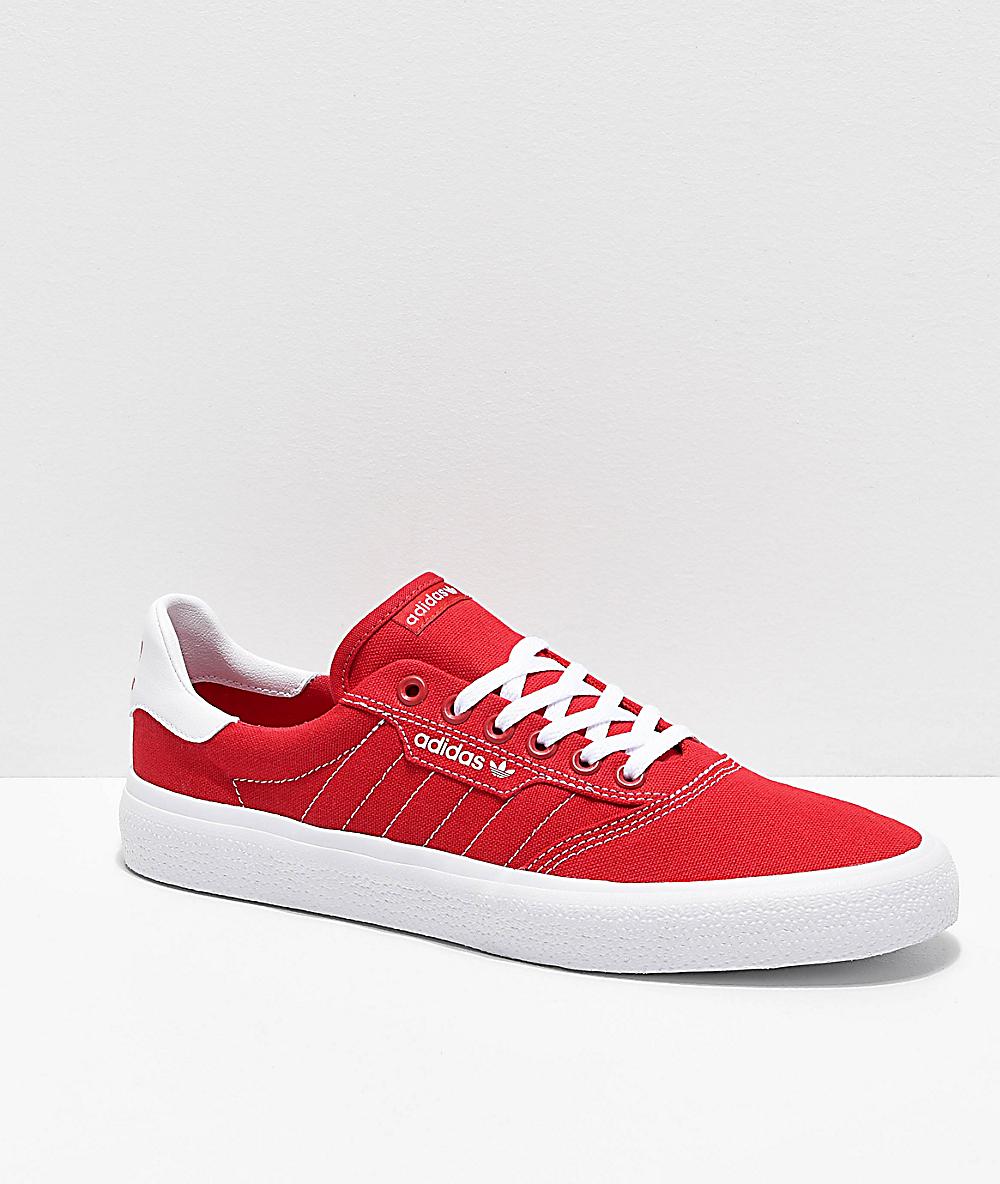 zapatos rojos adidas