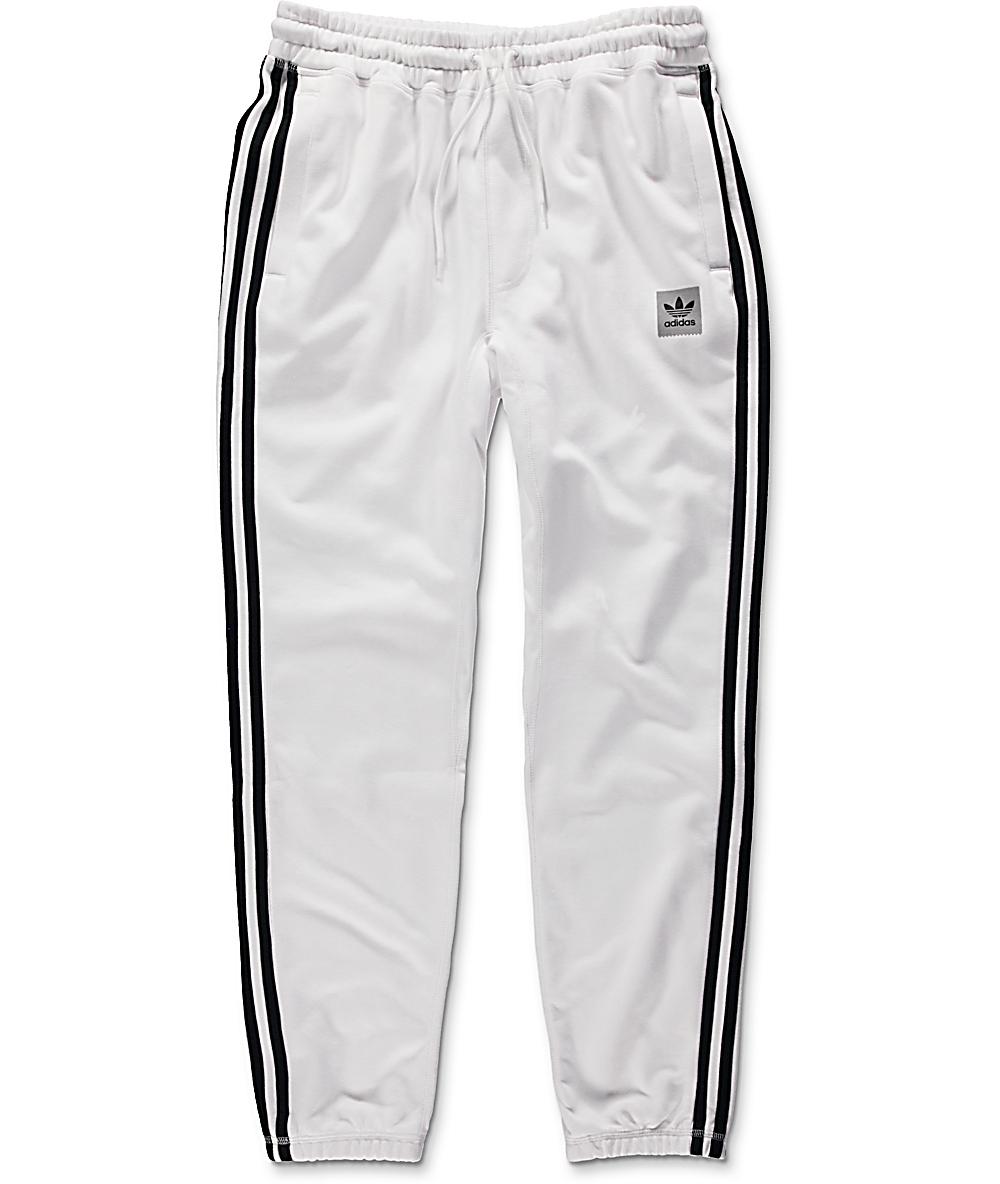 adidas BB White Sweatpants