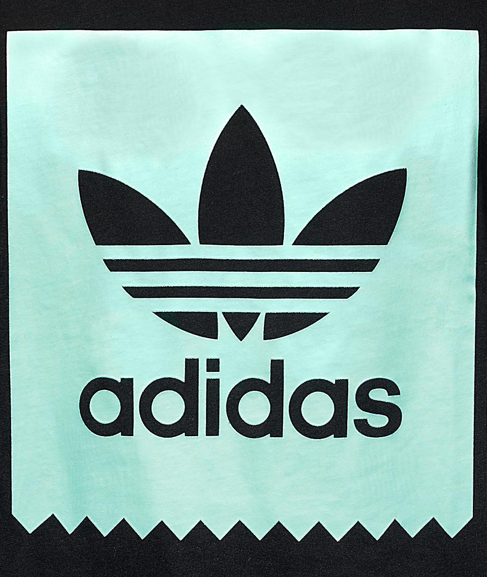 adidas Blackbird Logo Fill Black T-Shirt